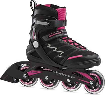 Amazon.com : Bladerunner by Rollerblade Advantage Pro XT Women's Adult Fitness Inline Skate, Pink and Black, Inline Skates : Sports & Outdoors