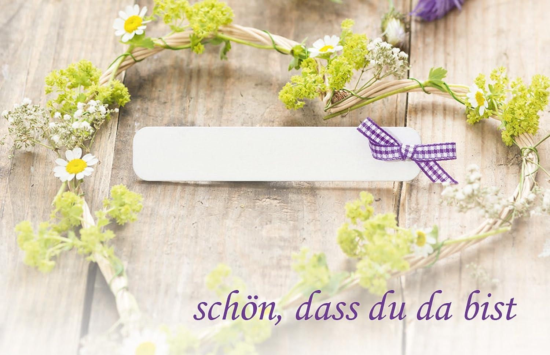 50 Tischkarten Grun Mit Schleife Uv Lack Glanzend Fur Hochzeit
