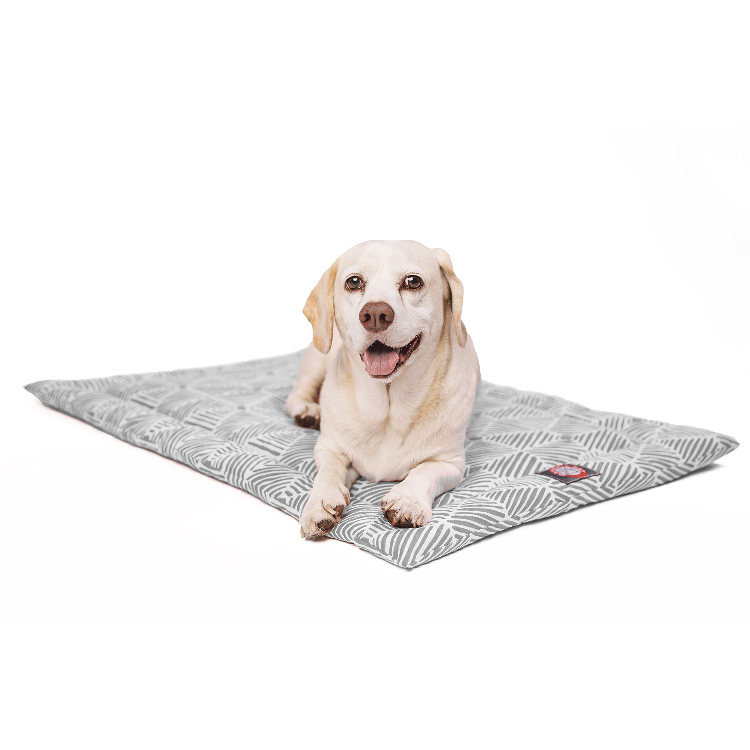 48''  Charlie Gray Crate Dog Bed Mat By Majestic Pet Products by Majestic Pet