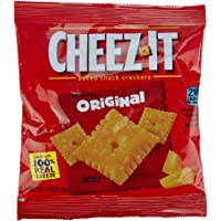 Kellogg's Cheez-It Crackers, Original, 1.5 Ounce (Pack of 60)