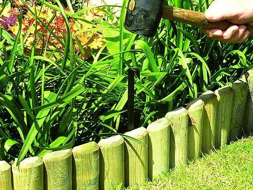 Log Roll Pin para madera Log Rollo: Amazon.es: Jardín