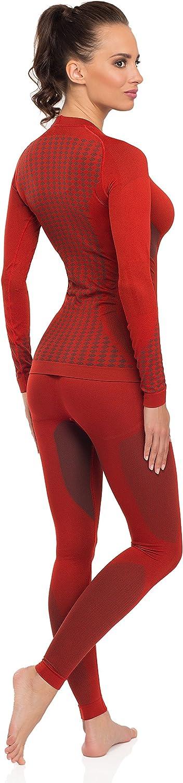 Merry Style Set Maglia e Calzamaglia Termiche Donna 06 110 120