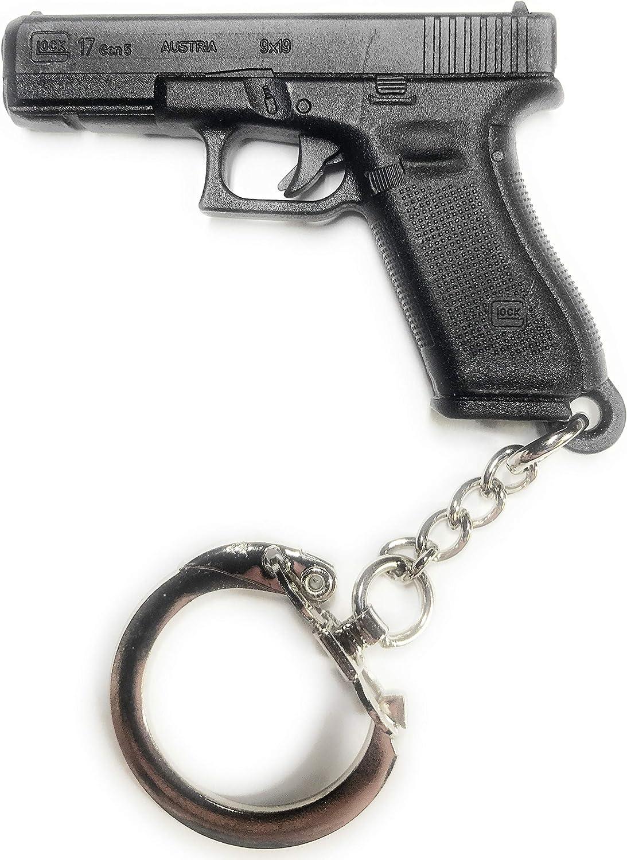 Glock 2019 Gen 5 Metal Badge /& Glock Model 17 Keyring