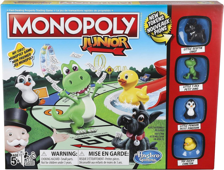 Hasbro Monopoly Junior Game: Amazon.es: Juguetes y juegos
