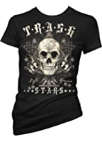 Rock Style Life Is A Game 702005 Ladies T-Shirt