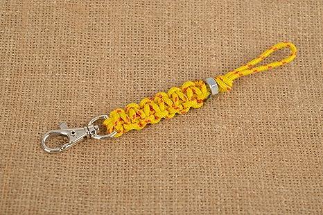 Llavero artesanal accesorio para llaves llavero para hombre ...