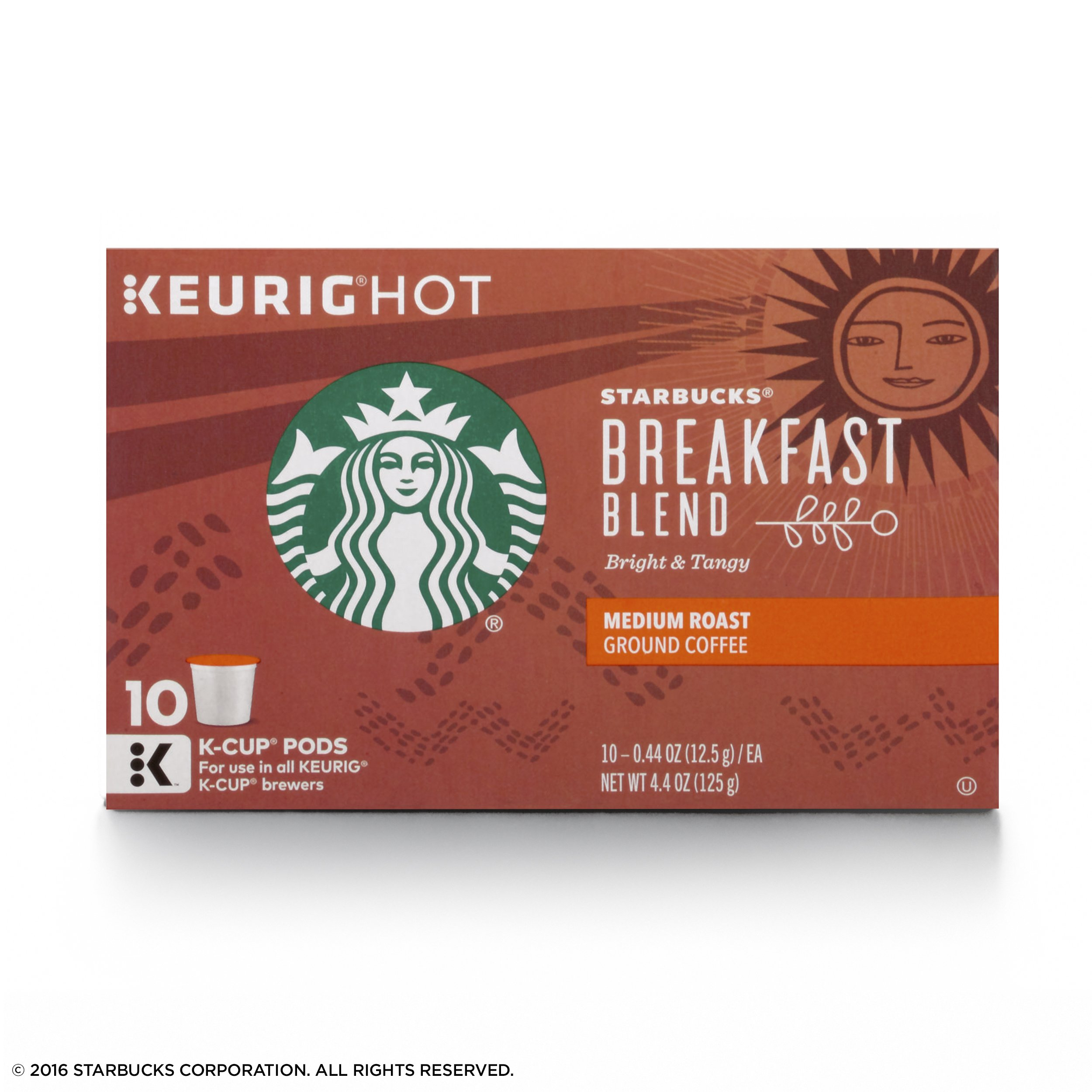 Starbucks Breakfast Blend Medium Roast Single Cup Coffee for Keurig Brewers, 6 Boxes of 10 (60 Total K-Cup pods) by Starbucks (Image #4)