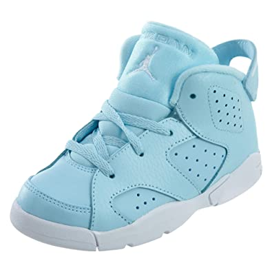 2459f3f206d6 Jordan 6 Retro GT Girls Fashion-Sneakers 645127-407 8C - Still Blue White