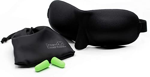 Wild Essentials® Sweet Dreams™ Comfortable & Contoured Sleep Mask Kit with Carry Pouch and Moldex® Ear Plugs, Travel Set, Gift
