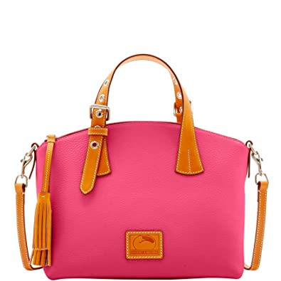 872a5c42116a Image Unavailable. Image not available for. Color  Dooney   Bourke  Patterson Leather Trina Satchel
