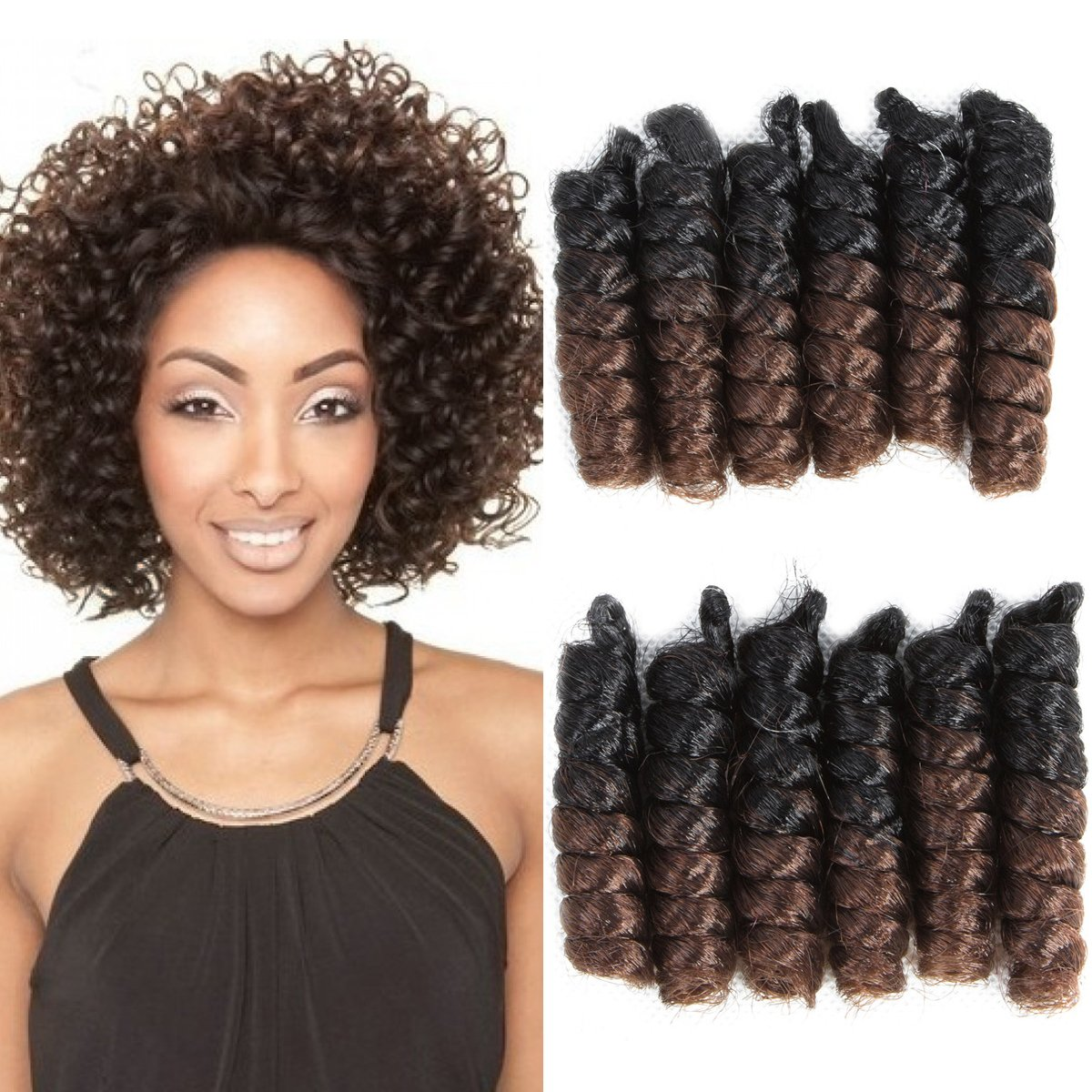Amazon Com 1 Pack Afro Kinky Braiding Hair Extensions African