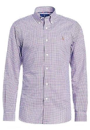 45c5e07b439b Polo Ralph Lauren 710661247005 Chemises Homme L  Amazon.fr  Vêtements et  accessoires