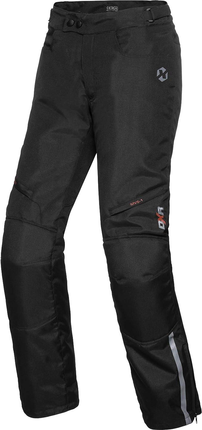 Weite 40 L/änge 30 Schwarz,56 Kurz 3XL Motorradhosen Textilhose Wasserdicht Winddicht Mit Protektoren