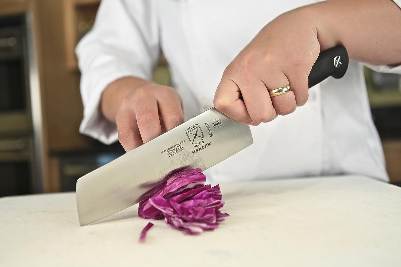 Mercer Culinary Genesis 7-Inch Nakiri Vegetable Knife