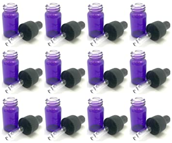 Amazon.com: 12 – 2 ml), color morado botellas de Aceite ...
