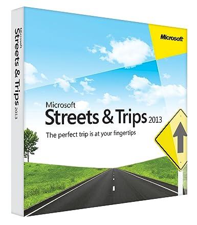amazon com microsoft streets and trips 2013