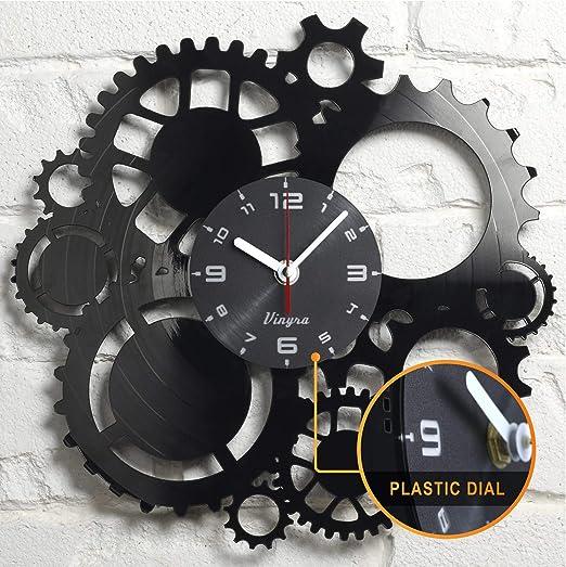 "20/"" Steampunk Astrolabe Star Tracker Gear Wall Clock Statue"