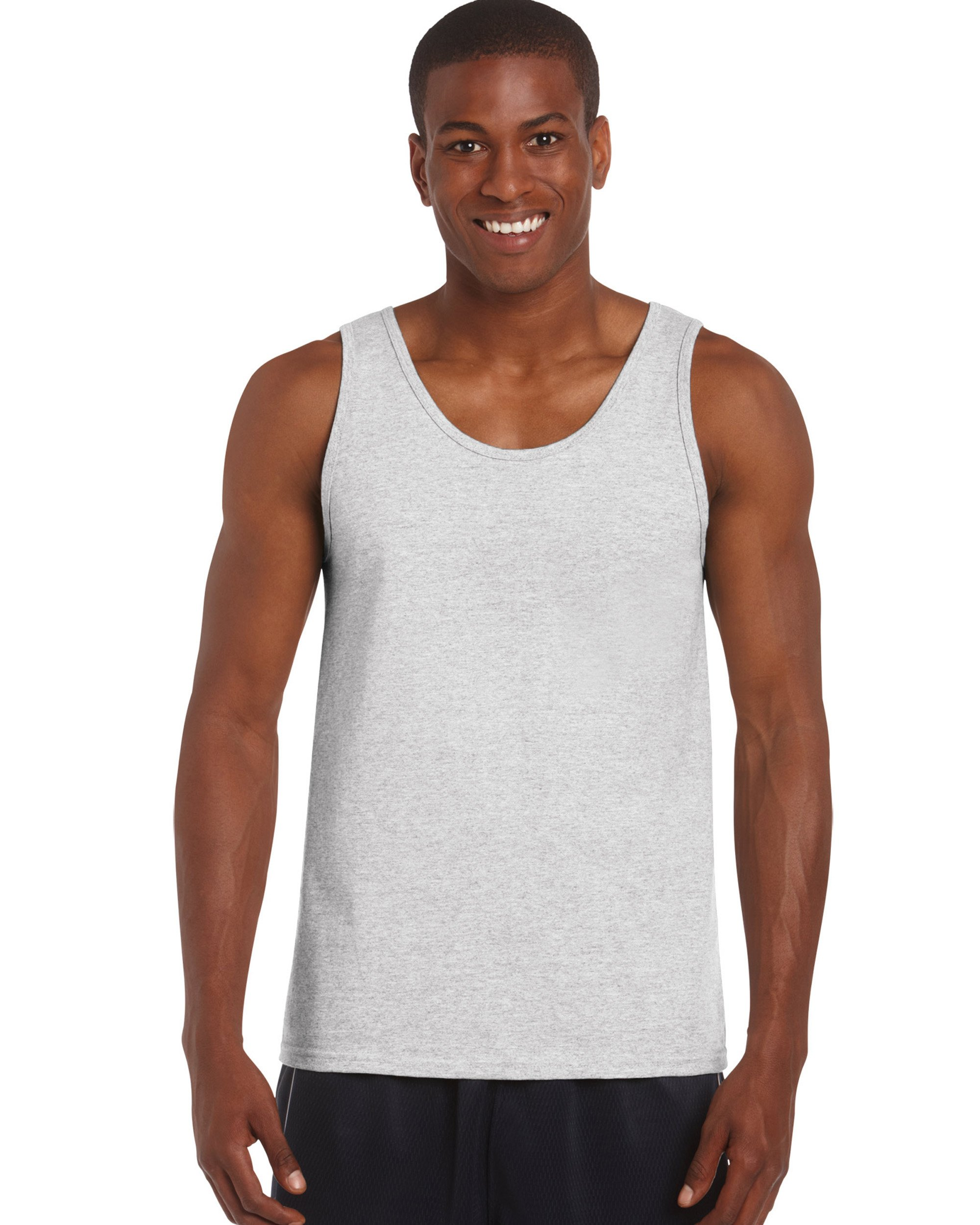 Gildan 2200- Classic Fit Adult Tank Top Ultra Cotton - First Quality - Ash Grey - 2X-Large