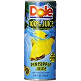 Dole Pineapple Juice, Not From Concentrate, 24 Count, 8.4 Ounce