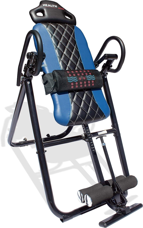 Health Gear HGI 4.2 Patent Pending Diamond Edition Heat & Vibration Massage Inversion Table