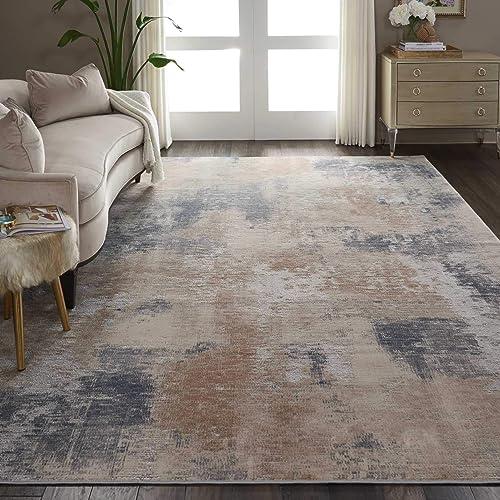 Nourison Rustic Textures Beige Grey Area Rug 9 3 x 12 9 X12 9