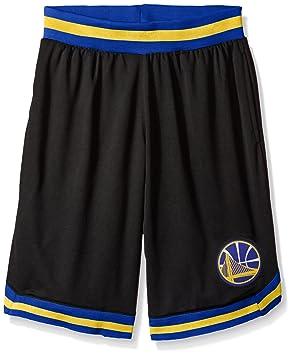 Unk NBA GSM3547F NBA Men s Woven Team Logo Poly Mesh Basketball Shorts cb50380d2980