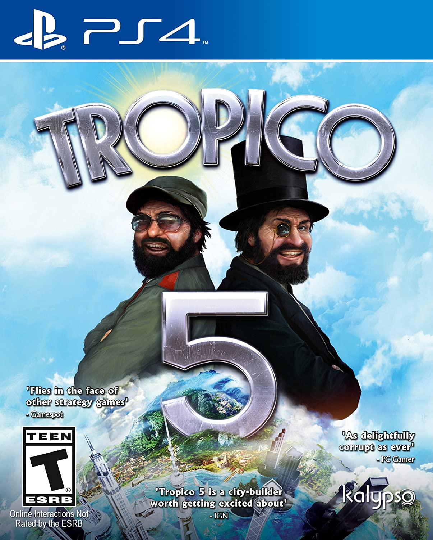 Amazon com: Tropico 5 (PS4) - PlayStation 4 Standard Edition