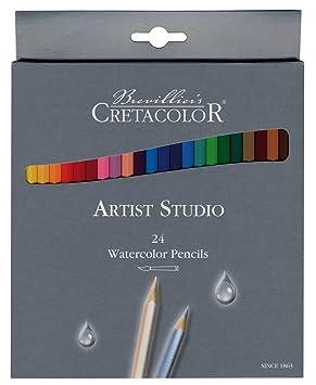 Cretacolor 281.24 Set de 24 lápices colores, estuche de cartón