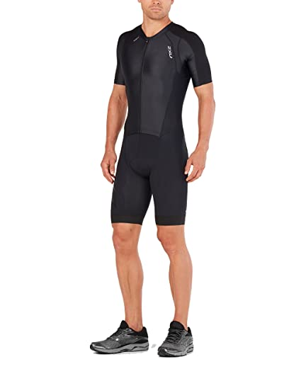 26db0347a Amazon.com   2XU Mens Comp Full Zip Sleeved Trisuit   Sports   Outdoors