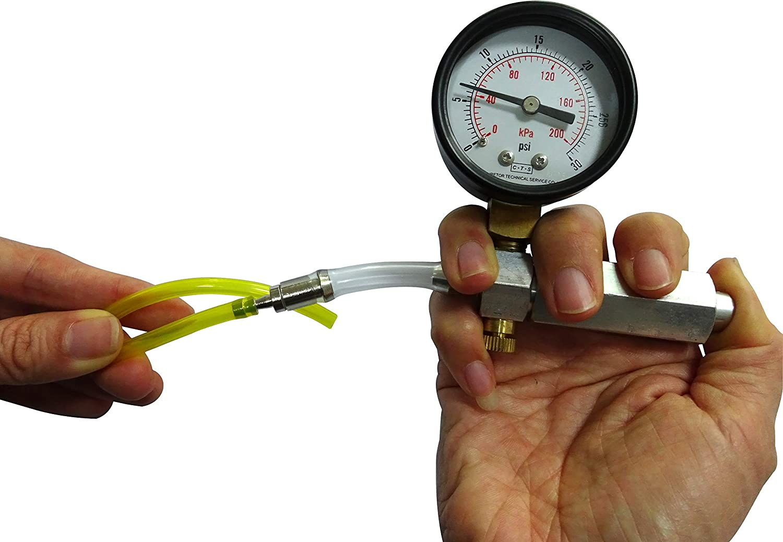 Carburetor Leak Detector Pressure Gauge for Walbro 57-21-1 Tillotson 243-504