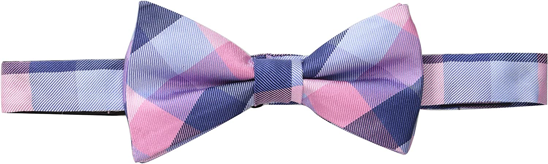 Tommy Hilfiger Mens Buffalo Tartan Pre-Tied Bow Tie