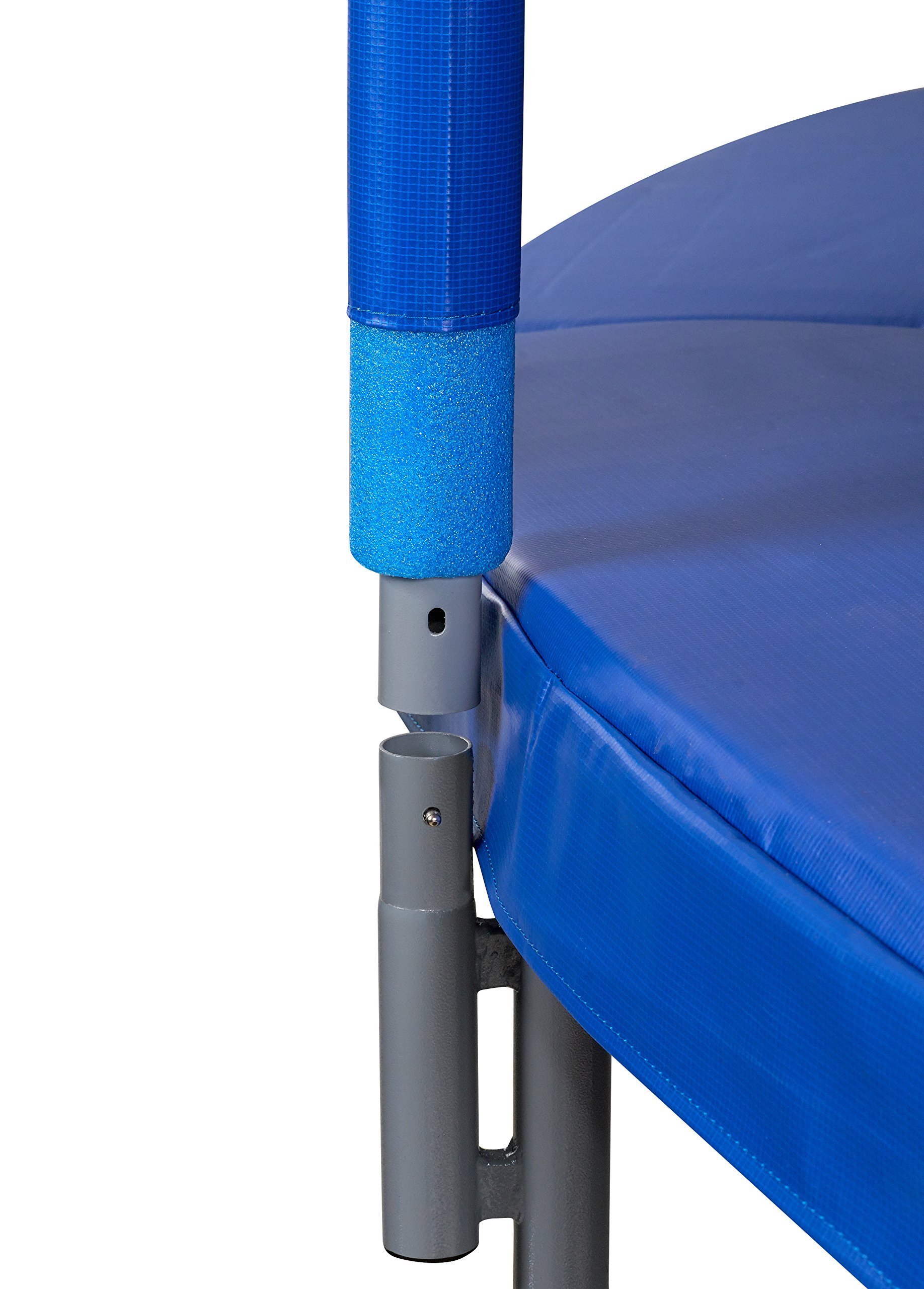 Upper Bounce 7.5 FT. Trampoline & Enclosure Set equipped with the New ''EASY ASSEMBLE FEATURE'' by Upper Bounce (Image #3)