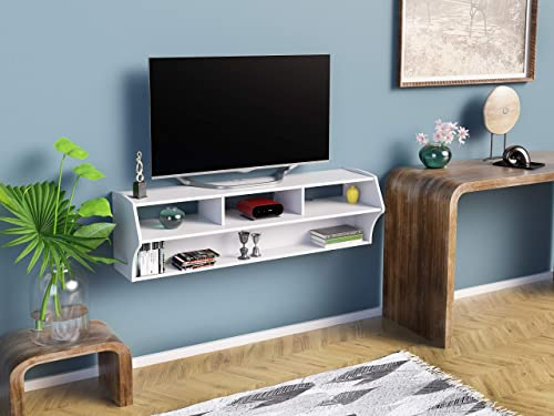 Prepac Altus Plus 58″ Floating TV Stand