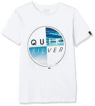 Quiksilver Copawoumba Camiseta de Manga Corta para niño, Niño, Camiseta, Sscltyoutblazed, Sea Salt, 8 años: Quiksilver: Amazon.es: Deportes y aire libre