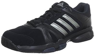 9e943be95056a9 adidas Performance Men's Black/Silver Barracks F10 Gym Shoes 9 UK ...