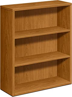 product image for HON 3-Shelf Bookcase with Fixed Shelves, 36 by 13-1/8 by 43-3/8-Inch
