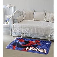 Tapete Orient Marvel Spider Man Prédios JolitexAzul 70x110cm
