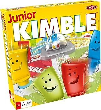 Tactic Junior Kimble Niños y Adultos Juego de Mesa de Carreras - Juego de Tablero (Juego de Mesa de Carreras, Niños y Adultos, 10 min, Niño/niña, 3 año(s), 99 año(s)): Amazon.es: Juguetes