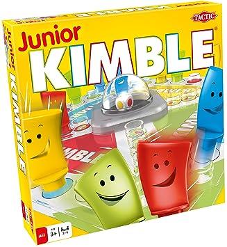 Tactic Junior Kimble Niños y Adultos Juego de Mesa de Carreras ...