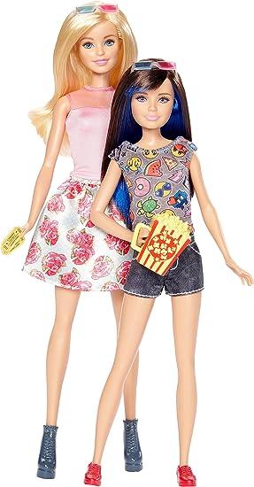 Amazon.es: Barbie Canguro Pack de 2 Muñecas Barbie y su Hermana Skipper (Mattel DWJ65): Juguetes y juegos