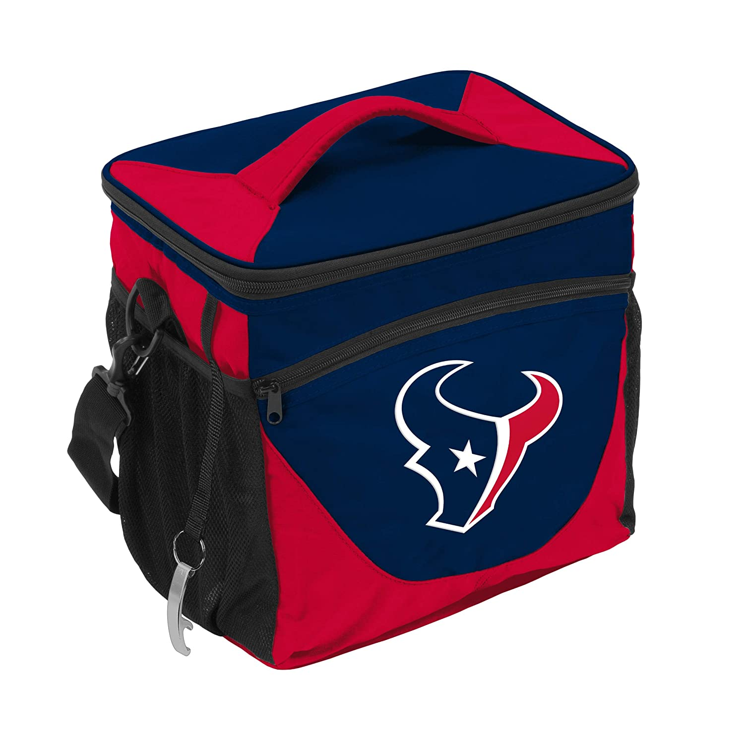 Logo Brands NFL Houston Texans 24 Can Cooler Navy One Size