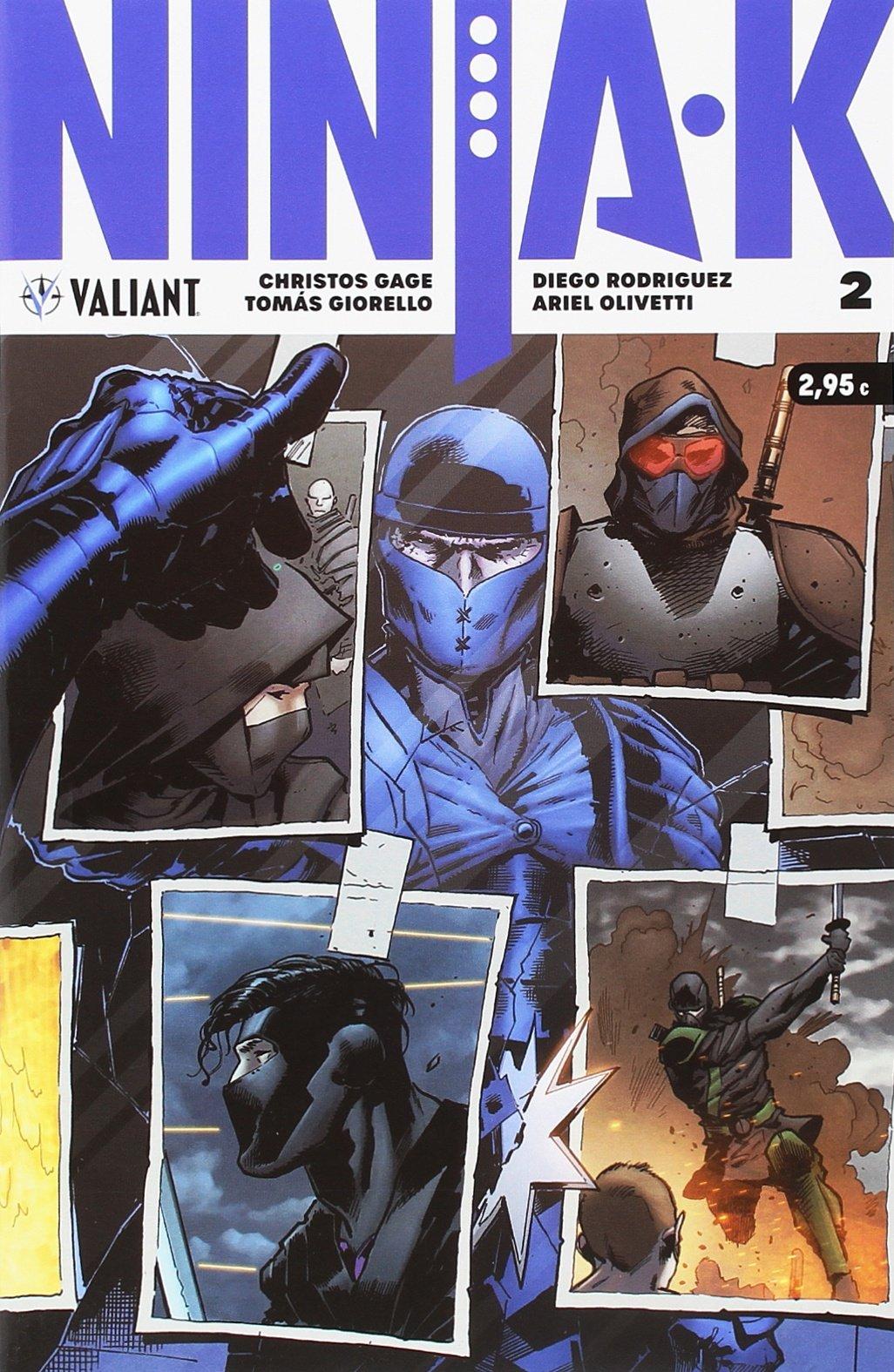 Ninja-K 2 (Valiant - Ninja-k): Amazon.es: Christos Gage: Libros