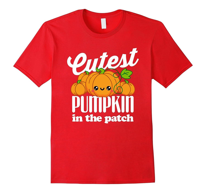Cutest Pumpkin In The Patch Halloween T-Shirt-T-Shirt