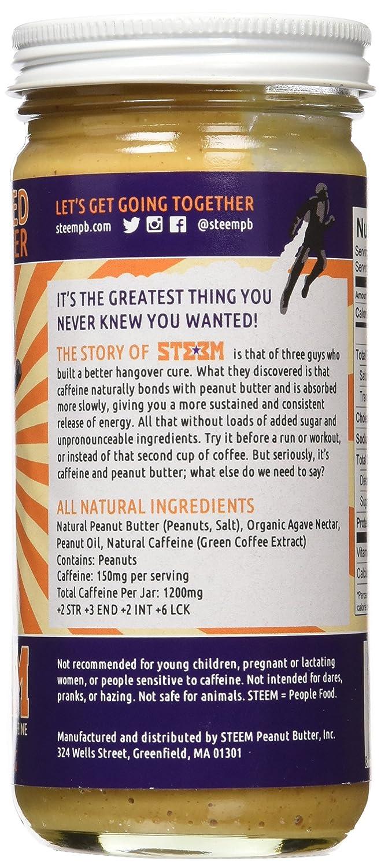 Amazon.com   STEEM Peanut Butter Caffeinated - 8oz Jar 2pack   Grocery    Gourmet Food 700e4ffdb