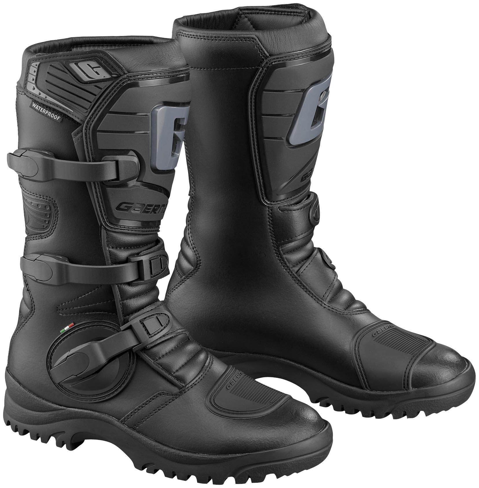 Gaerne G-Adventure Mens Black Motocross Boots - 12