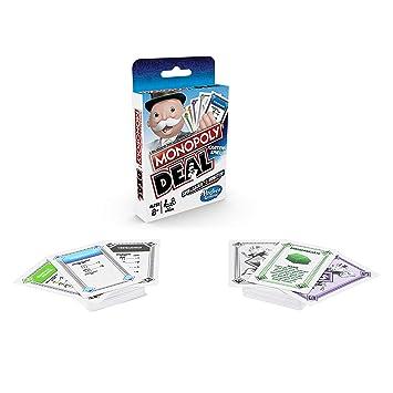 HASBRO Monopoly e3113100 Monopoly Deal, Juego de Cartas ...