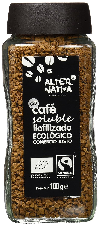 Alternativa 3 - Café soluble Bio Alternativa, 100g: Amazon.es: Alimentación y bebidas
