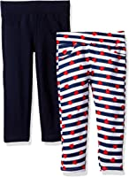 Limited Too Little Girls' 2 Pack French Terry Legging (More Available Styles)