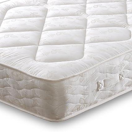 Cheap Beds Direct Colchón de muelles de Doble Cara Adonis, King Size (Zip and