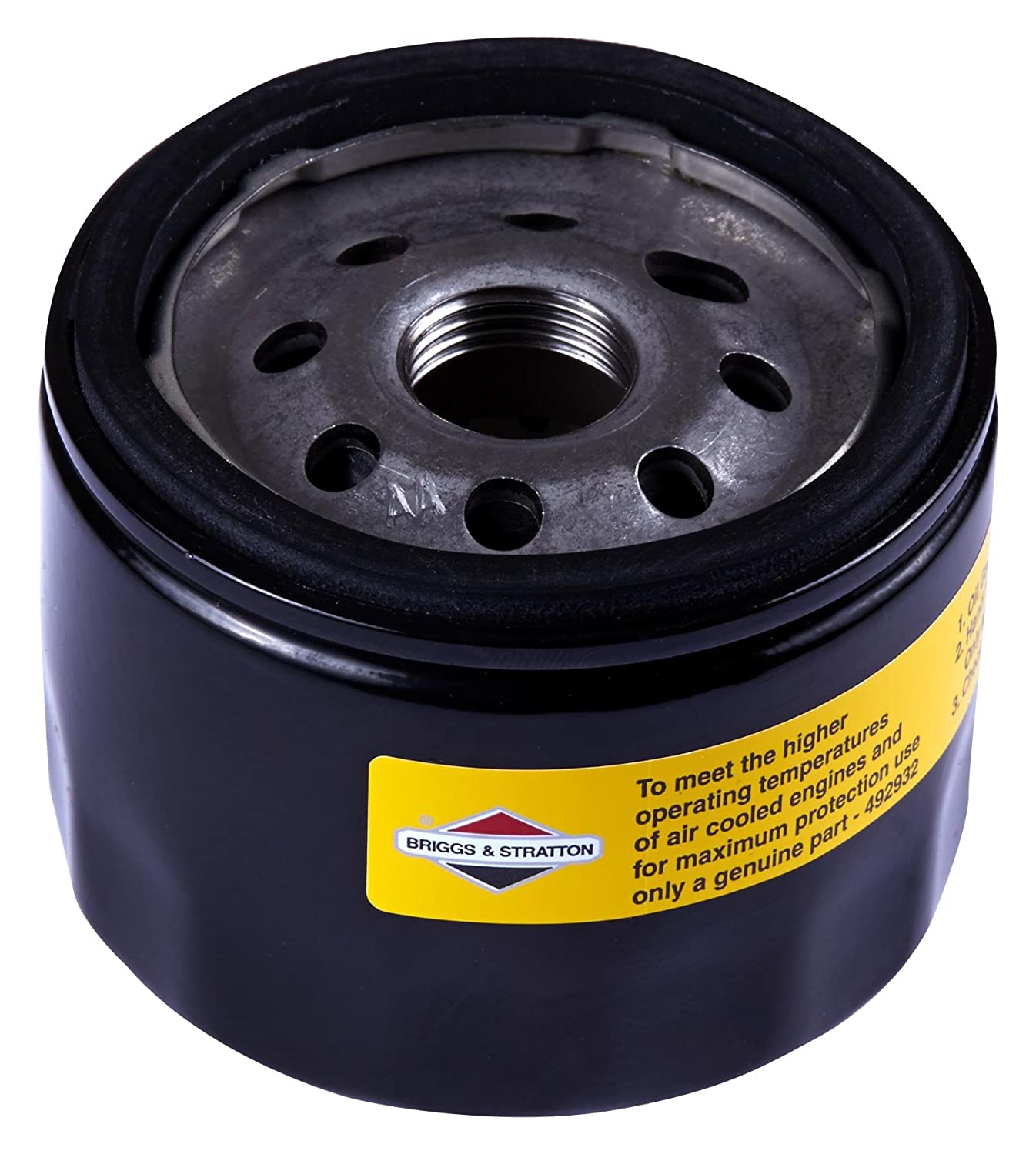 Amazon.com : Briggs & Stratton 492932S Oil Filter : Lawn Mower Oil Filters  : Garden & Outdoor